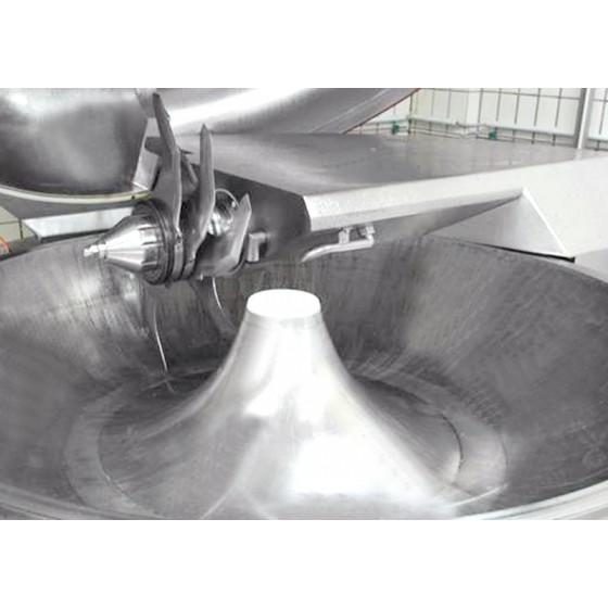 Cutter con vacío, con elevador de carga y vaciador KILIA 3000 RS EXPRESS (500 litros de capacidad)
