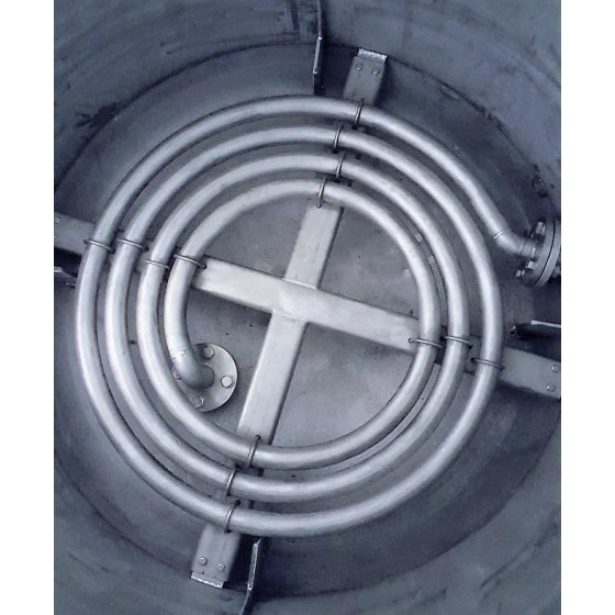 Cocedor vertical apertura neumática MECALSA, tipo MC CDA-2