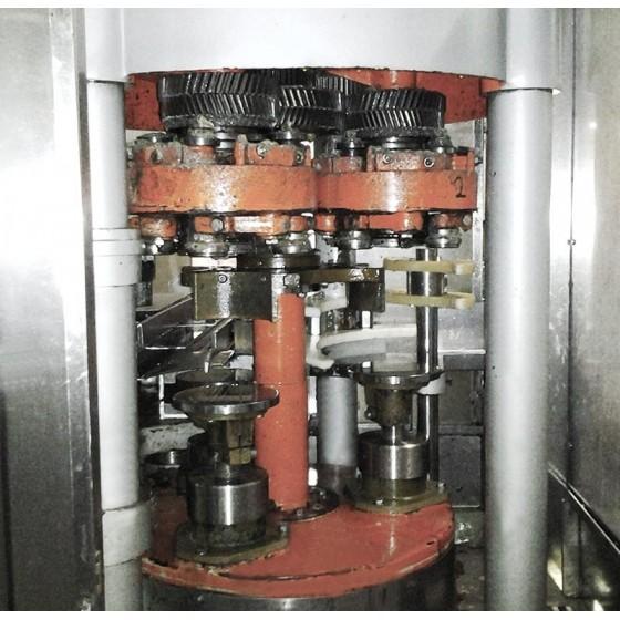 Cerradora de botes Manzini diámetro 150 mm