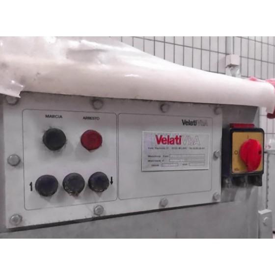 Embutidora al vacío con elevador Velati Vba, tipo IC5