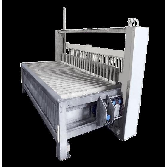 Congelador de placas Dybvad Stål Industri, tipo: DSKF25,