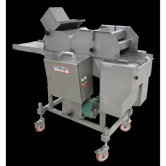 Línea completa: Conformadora CFS MLF400, Encoladora-Enharinadora –Tolva de alimentación MEYN