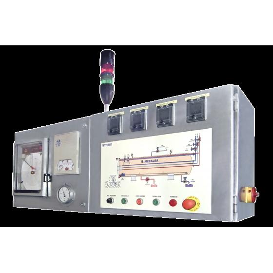 Cocedor a vapor horizontal MECALSA, TIPO: MC V-1900