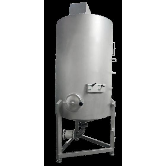 Horno de asado por aire caliente (intercambiador mediante aceite térmico), tipo: MC HC-650-7000