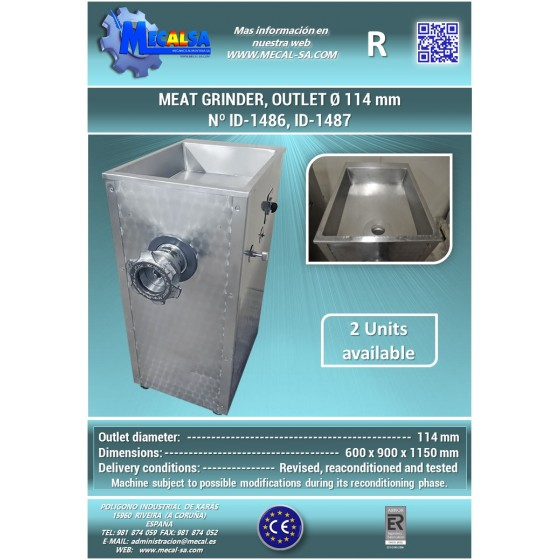 Dosificador rotativo de salmuera y otros líquidos, tipo: MC DFR