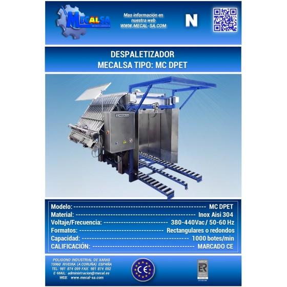 Embutidora Handtmann VF100B con elevador de carga